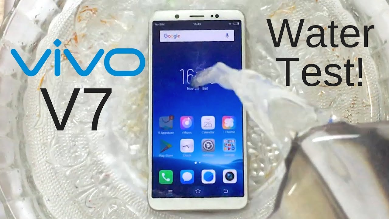 official photos a9ea7 12803 Vivo V7 Water Test! Actually Waterproof?