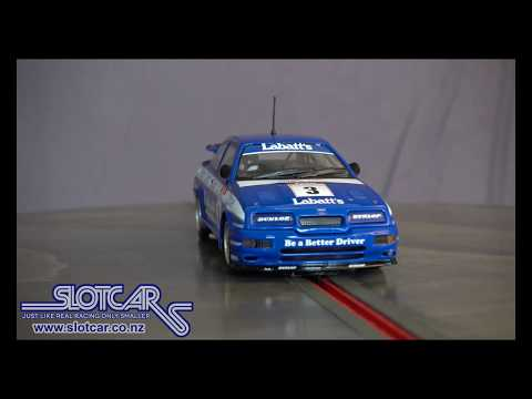 Scalextric Slot Car Ford Sierra Cosworth RS500 BTCC #3 Labatts Slotcar C3867