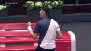 Denis Shapovalov Best Shots vs Berrettini | St Petersburg 2018