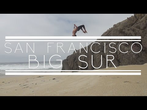 San Francisco & Big Sur - Parkour & Freerun - Rikki Carman