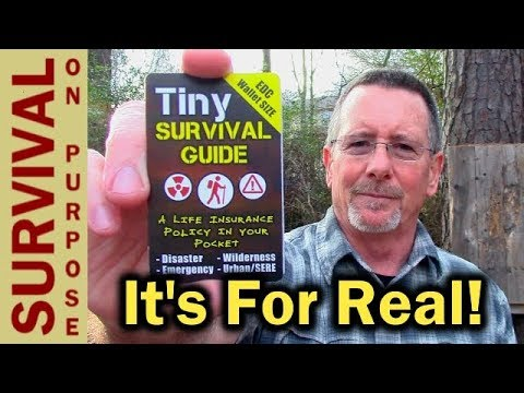 Tiny Survival Guide Review –  Every Survival Kit Needs One of These
