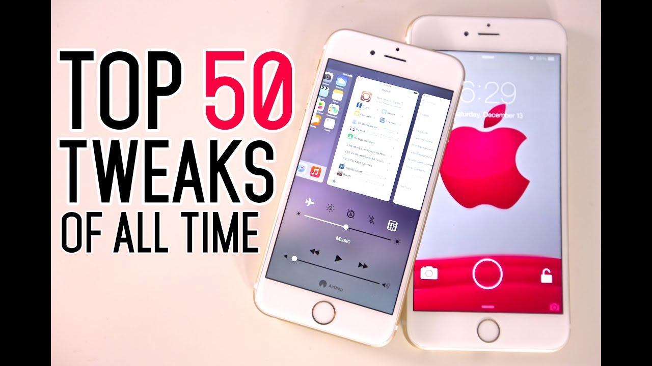 Top 50 IOS 8 Cydia Tweaks Of ALL Time