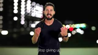 Shia LaBeouf Just Do it! Auto tuned Мотивирующий клип сделай это
