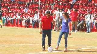 Sultan Salman Khan Vs Millionaire Nita Ambani Football Match