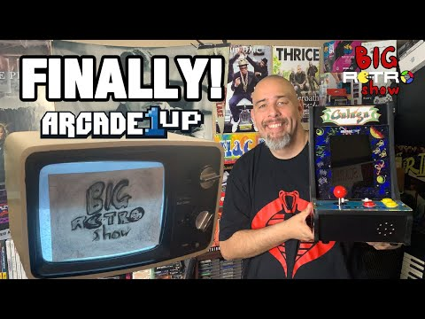 I Bought My Very First Arcade1up Galaga Machine! from Big Retro Show