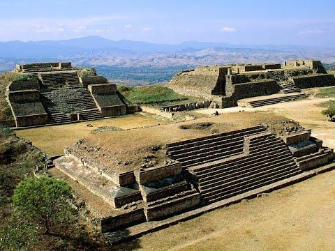 Մոնտե Ալբան  Օահակա Մեքսիկա , Пирамиды Монте-Альбан, Мексика  Monte Alban ruins of pyramids