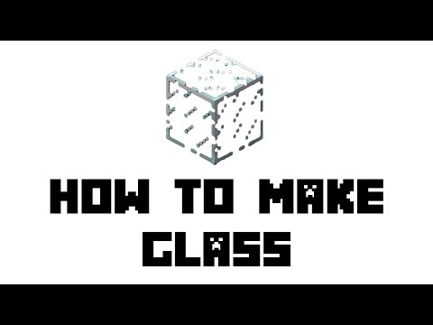 How to craft glass in minecraft xbox 360