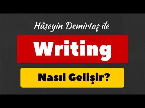 Writing nasıl gelişir? İngilize yazı yazma becerisini geliştirme