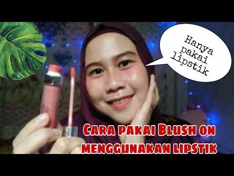 pakai-blush-on-menggunakan-lipstik