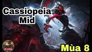 Hướng dẫn cách chơi và lên đồ Cassiopeia Mid | Mùa 8 - Liên Minh Huyền Thoại