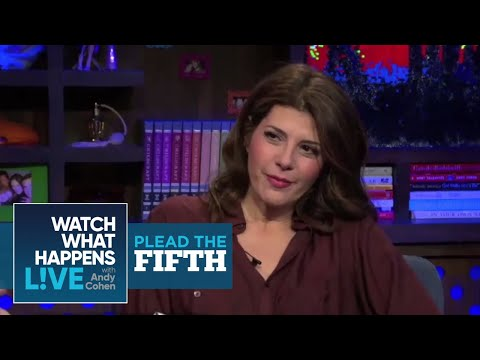 Marisa Tomei - Pleads The Fifth - WWHL