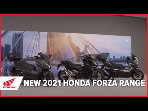 The New 2021 Honda Forza Range