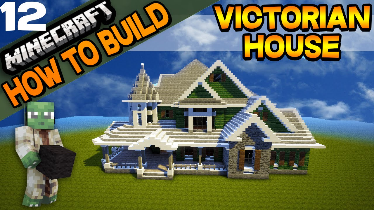 minecraft victorian house how to build e12 youtube
