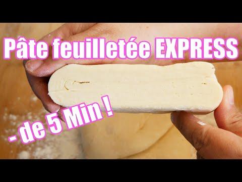 recette-de-la-pâte-feuilletée-express