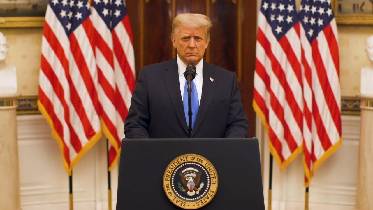 Donald Trump Farewell Address But Was It Farewell?