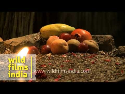 Fruits offer by muslim devotee on the eve of Shab-e-barat