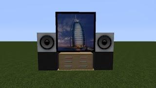 Minecraft Modern Televizyon Yapımı !!!!