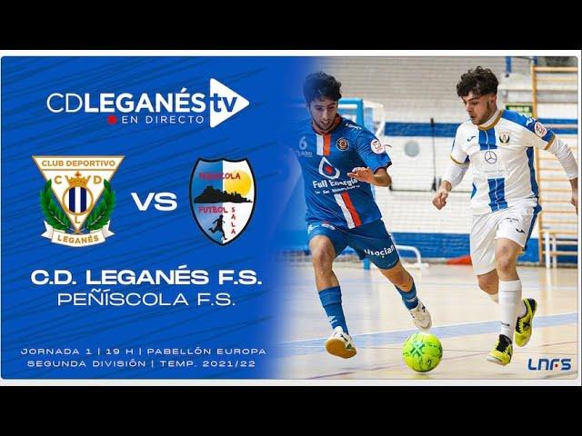 C.D. Leganés FS vs Peñiscola FS