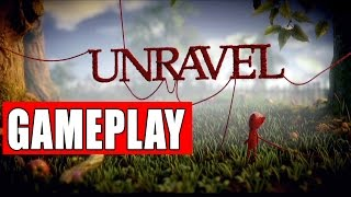 UNRAVEL Official Gameplay Debut E3 2015 HD
