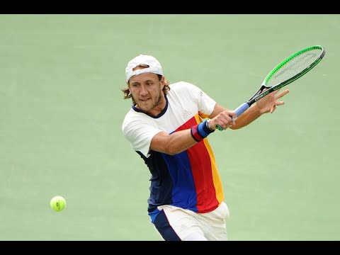 2017 US Open: Pouille Takes The Third Set With An Ace