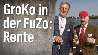 GroKo (nicht) in der FuZo: Rentenkrach
