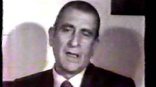 Eduardo Frei Montalva: Entrevista 1974 P1