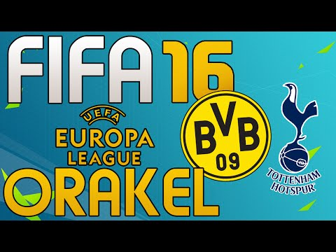 BORUSSIA DORTMUND vs TOTTENHAM HOTSPUR - FIFA 16 EUROPA LEAGUE ORAKEL - Let's Play Fifa Gameplay
