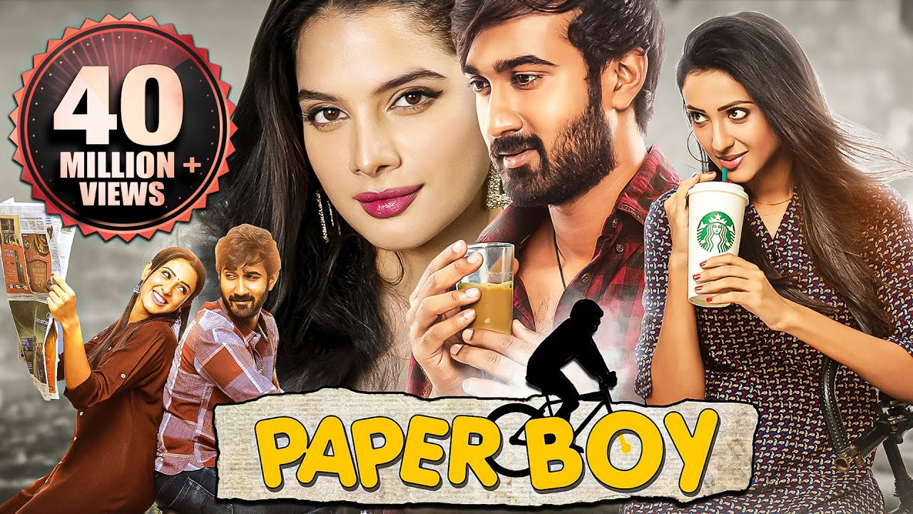 Download Paper Boy (2020) NEW RELEASED Full Hindi Dubbed Movie | Santosh Sobhan, Riya Suman