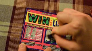 ASMR WHISPER SCRATCH OFF -WIN FOR LIFE NY LOTTERY