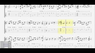 Ngưng làm bạn (Tino & Yuno) guitar solo tab by D U Y