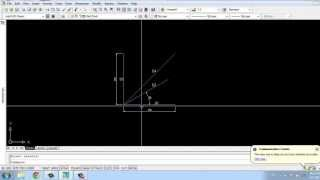 Một số phương pháp vẽ đường thẳng trong Autocad