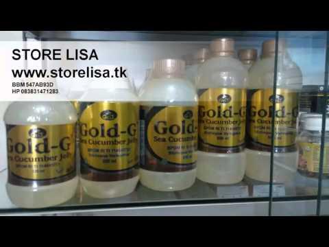 Jual Jelly Gamat Gold G Menyembuhkan Berbagai Penyakit Original Murah Asli Lamongan 083831471283