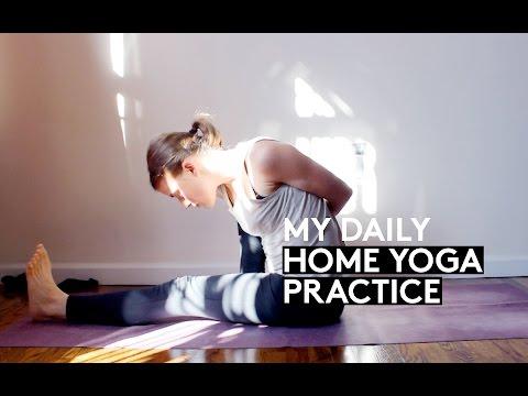 My daily HOME YOGA practice | Ashtanga & Benefits