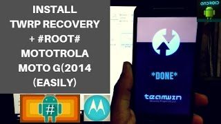 Install TWRP Recovery + ROOT Moto G2 SUCCESSFULLY | ROOT Moto G2 (2017)