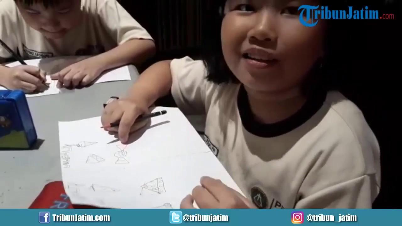 Ohayo Drawing School Kenalkan Anak Makanan Sehat Tidak Sehat Sambil