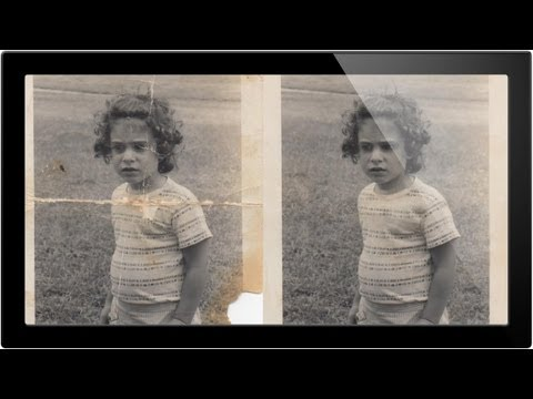 How To Repair An Old Photo In Photoshop Pt 1 - A Phlearn Video Tutorial