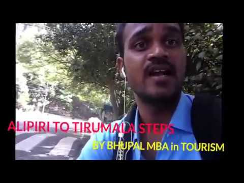 ALIPIRI TO TIRUMALA BY FOOT ||COMPLETE GUIDE| pedestrian foot path way| BY BHUPAL|news in ur mobile