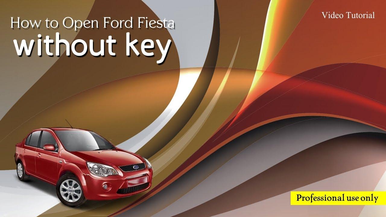 Unlock ford fiesta without key youtube unlock ford fiesta without key planetlyrics Gallery