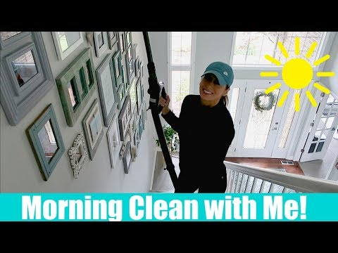 Morning Clean with Me | Cleaning Motivation + how I clean my makeup brushes
