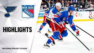 NHL Highlights | Blues @ Rangers 3/3/20