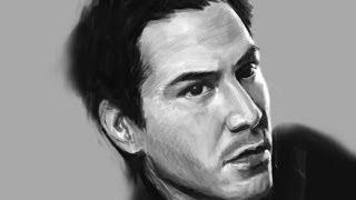 kensh(켄쉬)ipad3 speed painting ( Keanu Reeves )