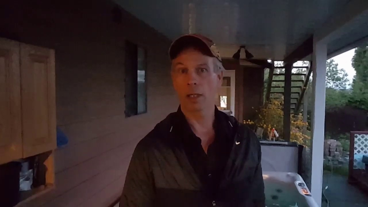 Do not attempt to purge your hot tub with vinegar - YouTube