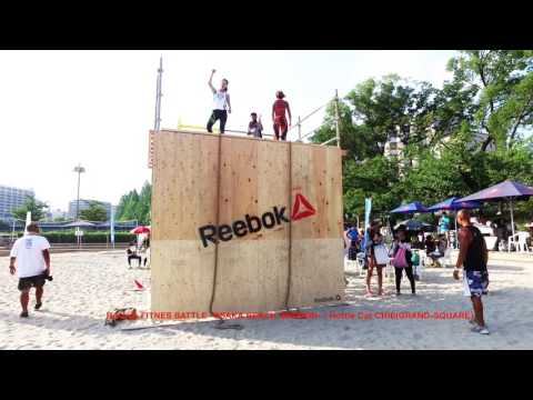Reebok Fitness Battle Race -OSAKA BEACH SESSION-/HottieCatCHIEが挑戦!