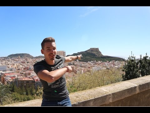 Alicante City Tour - Castle of Saint Barbara, Port and trying TAPAS #spain #alicante