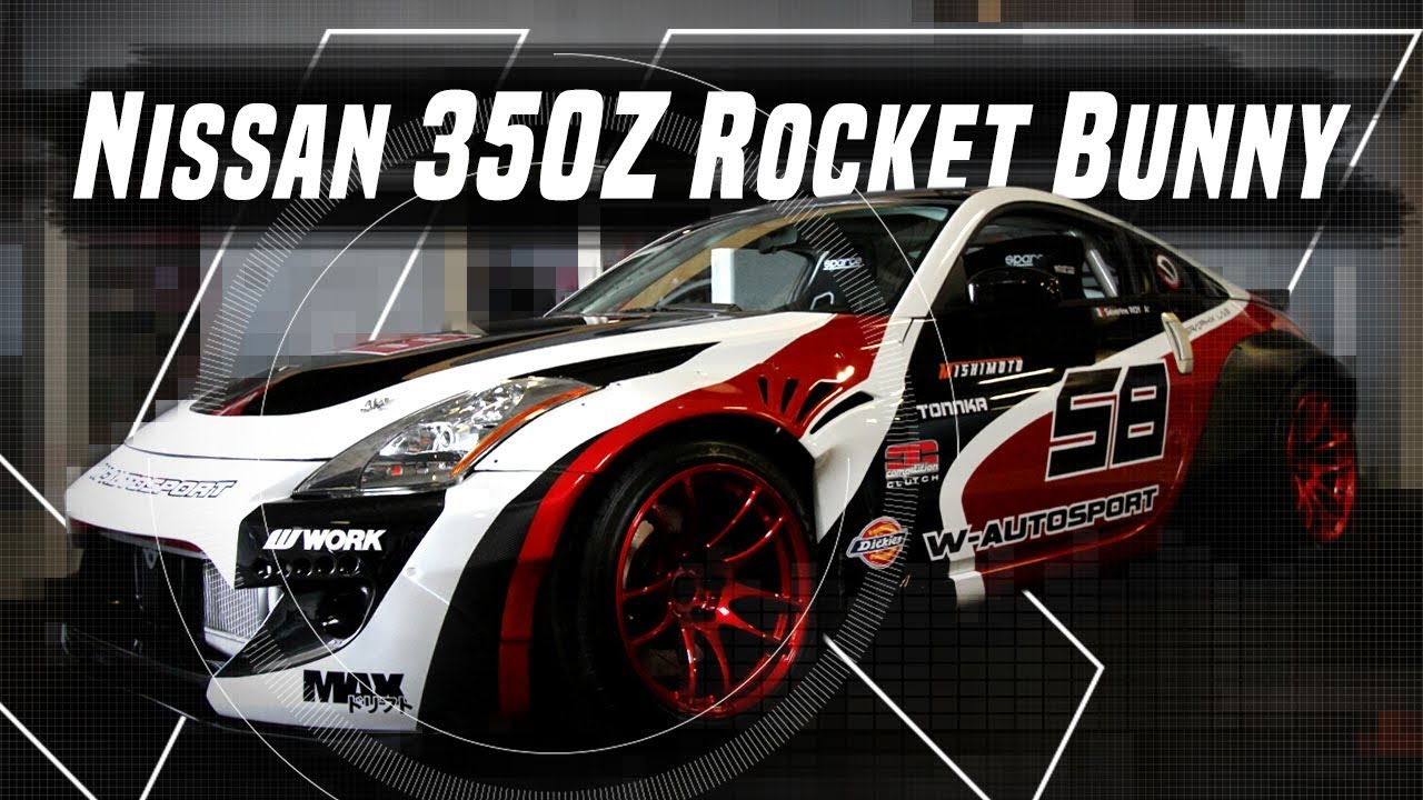 Nissan Rocket Bunny Drift Car By W Autosport Car