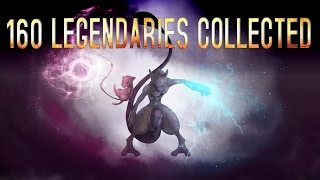 Roblox: Project Pokemon 160 LEGENDARY COLLECTION!