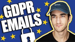 The GDPR Is KILLING Email Marketing! - What to do about it