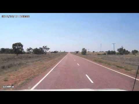 Video 335 Landsborough Highway - Longreach to Dandarga Road Turn Off