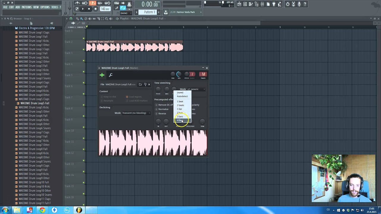 How to EDM: FL Studio Easy Tempo Matching / Fit / Syncing ...