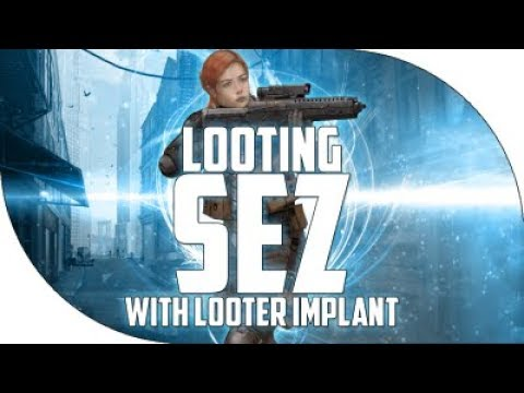 Dead Frontier: Champion Looting SEZ, Looting Event & Using Looter Implant